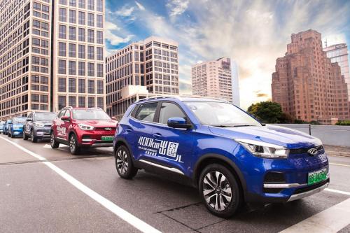从上海到杭州,近海无忧之旅,奇瑞新能源双e一路安全护送
