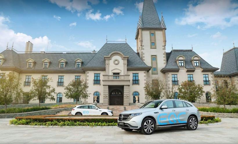 全新梅赛德斯-奔驰EQC纯电SUV体验之旅