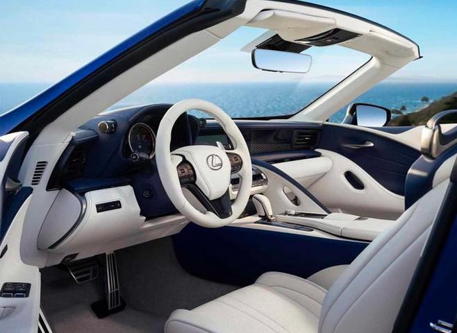 雷克萨斯LC敞篷版实拍曝光!搭V8引擎/明年开售