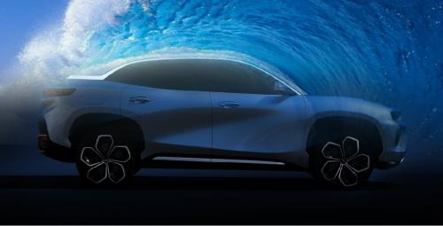 自然赋能,自然之美,这款纯电SUV堪称艺术品