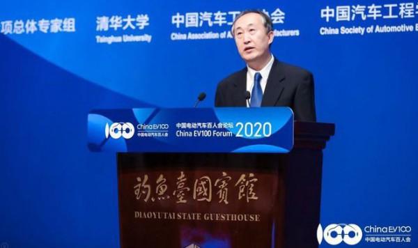 李冶:新能源汽车逐步成为国家能源应对未来的新标准