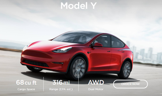 特斯拉再增竞争实力 Model Y降价3000美元