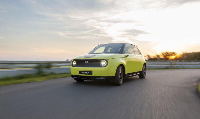 本田将于10月底在日本推首款电动汽车本田e 主打性价比