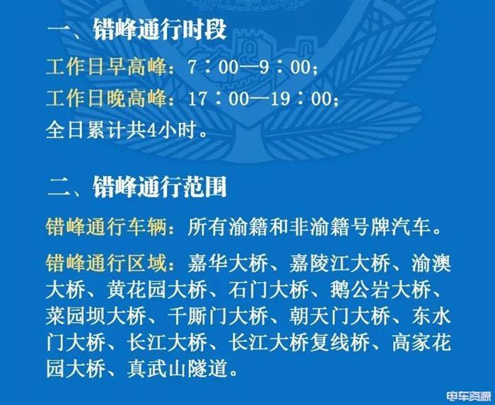 重庆计划实施错峰通行 新能源牌照不受限制