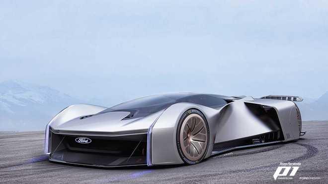 不花钱随便开 福特Team Fordzilla P1概念车亮相