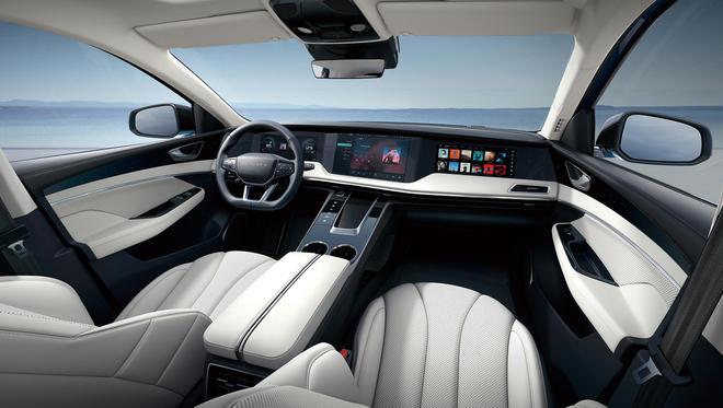 五屏互联智能座舱 天际ME7正式上市售价21.88-28.98万元