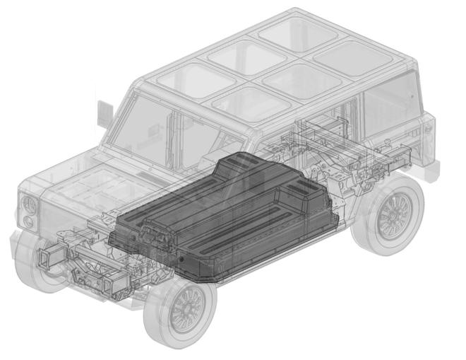 博林格汽车申请自行生产新电池专利 35kWh模块化设计