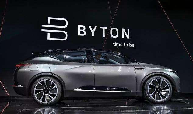 拜腾称已批准重组方案 M-byte或于明年量产