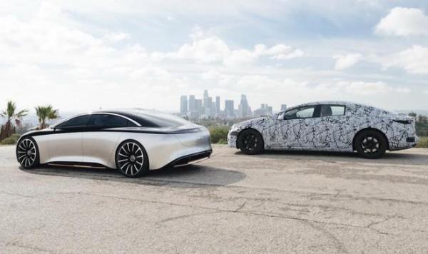 梅赛德斯EQ子品牌将在美国推出电动版S级轿车