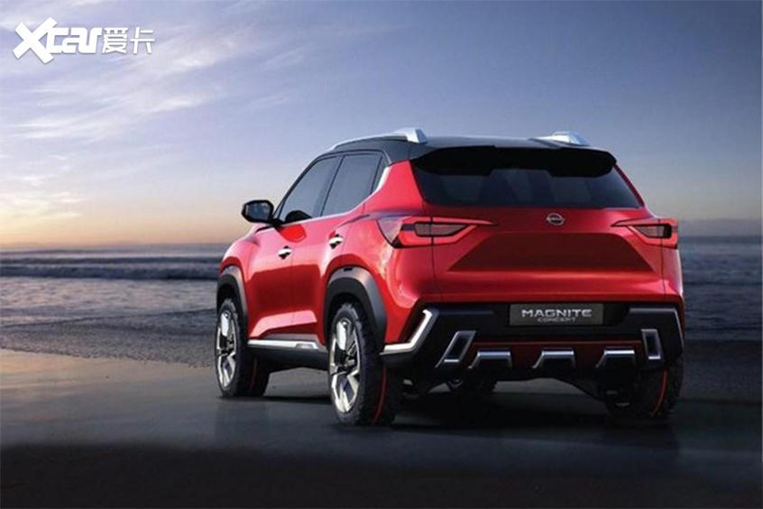 日产全新小型SUV-MAGNITE 10月21日亮相