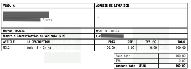 特斯拉开始向欧洲出口中国生产Model 3