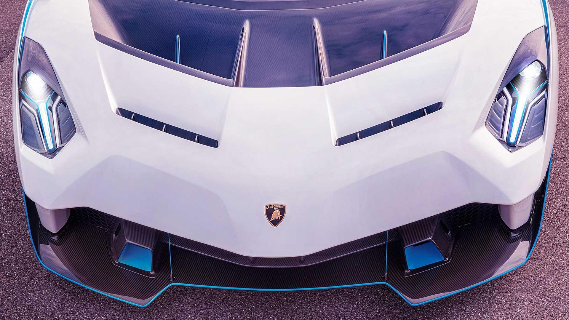 采用无车顶/前风挡设计 兰博基尼SC20官图发布